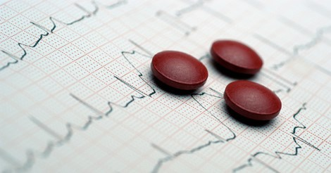ECG and pills