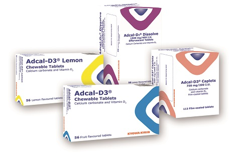 Packs of Adcal-D₃®