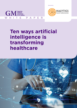 White paper: Ten ways artificial intelligence is transforming healthcare