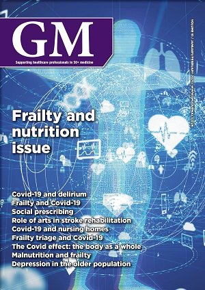 Frailty issue cover